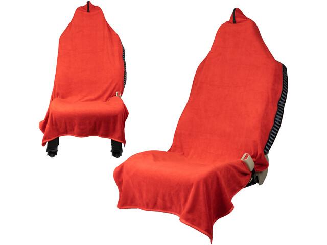 Orange Mud Transition Wrap 2.0 Multifunctional Towel, salsa red